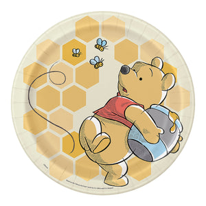 "Winnie the Pooh Plate 9"" - USA Party Store"