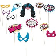 Girl Super Hero Photo Props