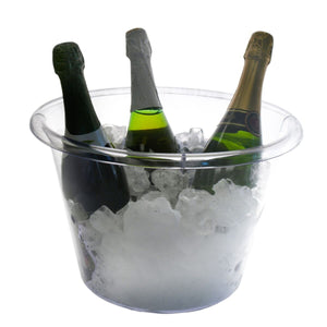 EXTRA LARGE ICE BUCKET – CLEAR - USA Party Store