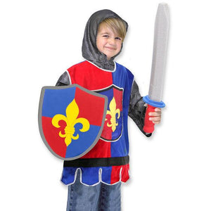Knight Role Play Costume Set 3-6 yrs - USA Party Store
