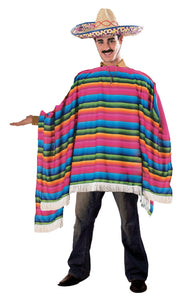 Mexican Serape & Sombrero - USA Party Store
