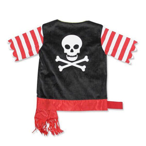 years Pirate Role Play Costume Set 3-6 yrs - USA Party Store