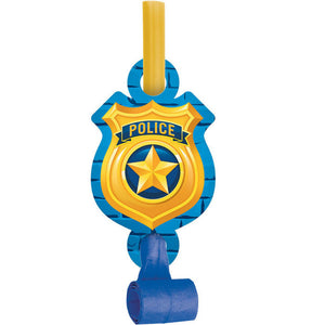 Police Party Blowouts 8ct - USA Party Store