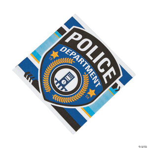 Police Party Lunch Napkin - USA Party Store