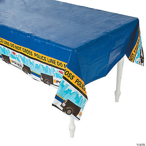 Police Party Tablecover - USA Party Store