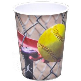 SoftBall Favor Cup - USA Party Store