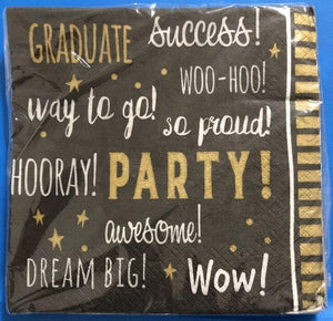 You Did It! Graduation lunch napkins - USA Party Store