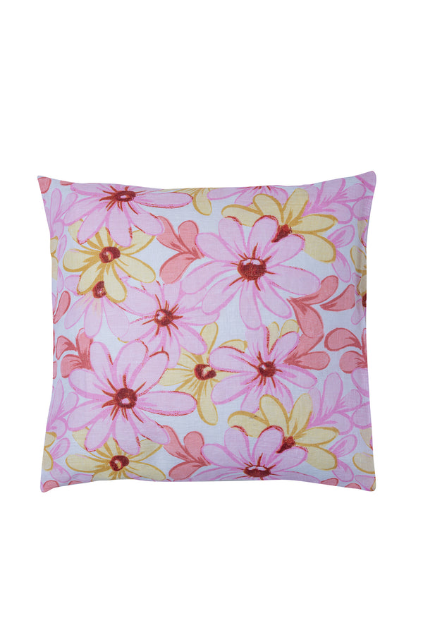 CUSHION COVER RIVIERA LINEN PINK