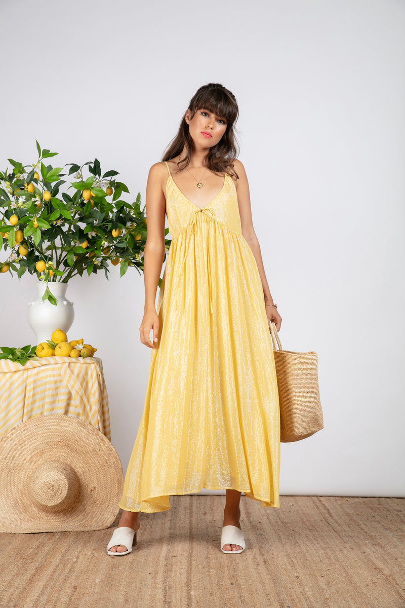 ALBA LONG MARBELLA YELLOW