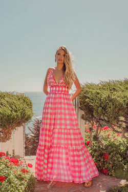 CATALINA GINGHAM PINK