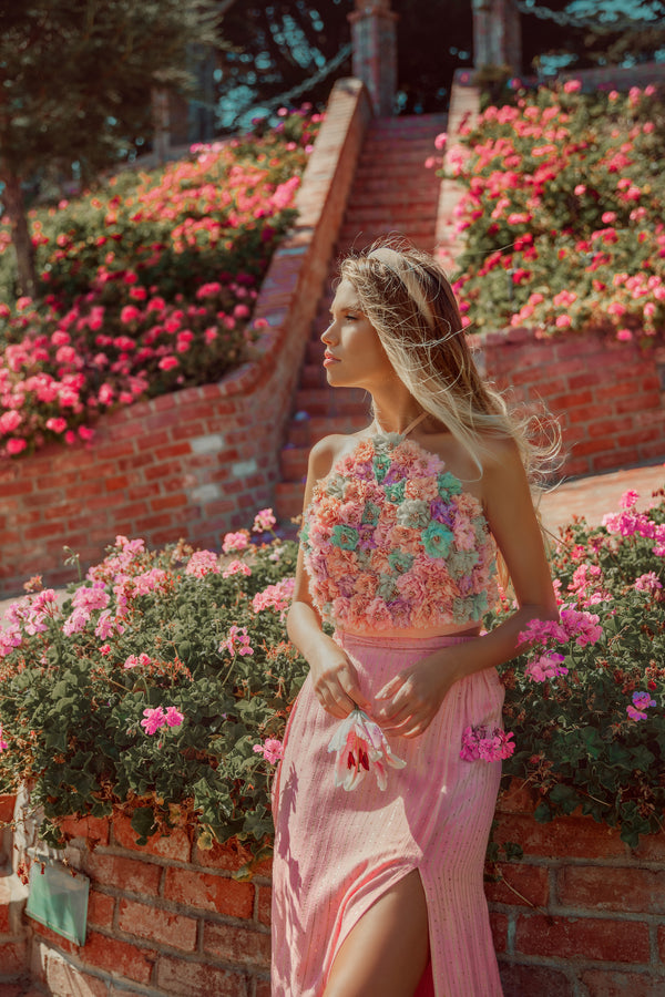 HIBISCUS TOP MARBELLA MIX PASTEL