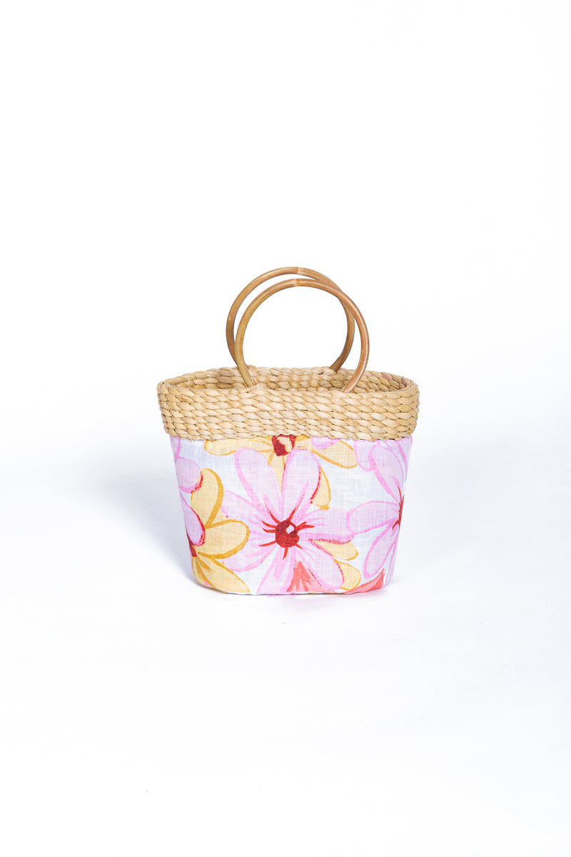 LITTLE RIVIERA BAG RIVIERA PRINT PINK