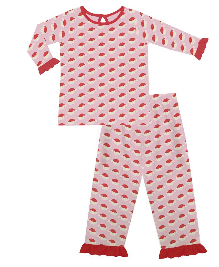 2020 Pink Christmas Pajama Set