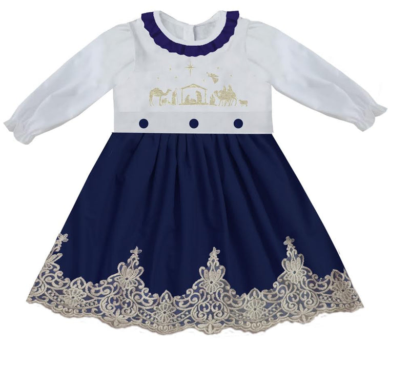2020 Christmas Nativity Bishop Dress