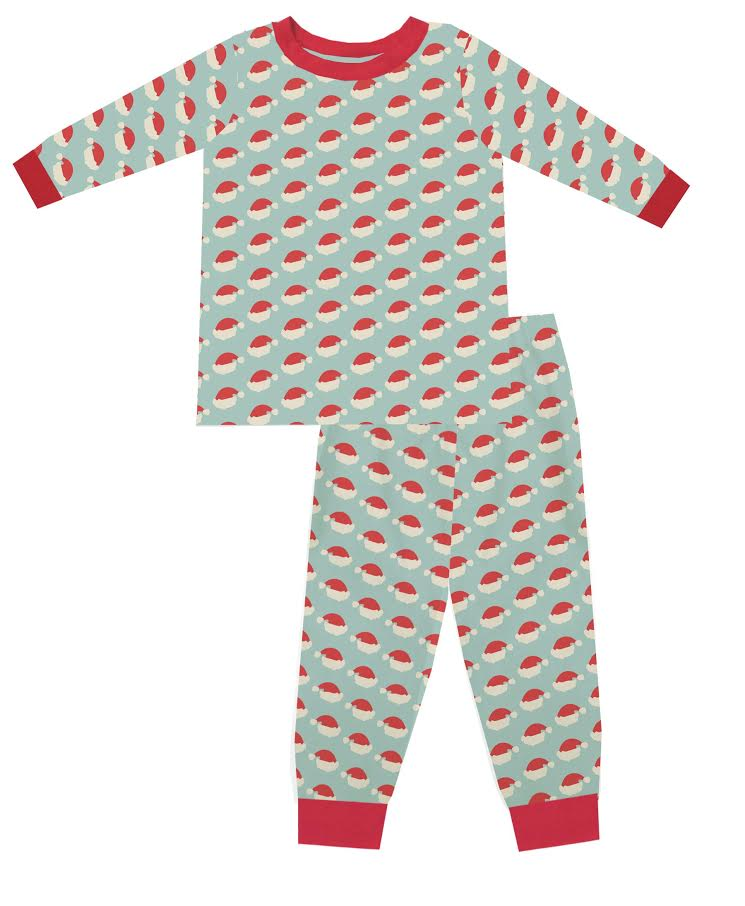 2020 Blue Christmas Pajama Set