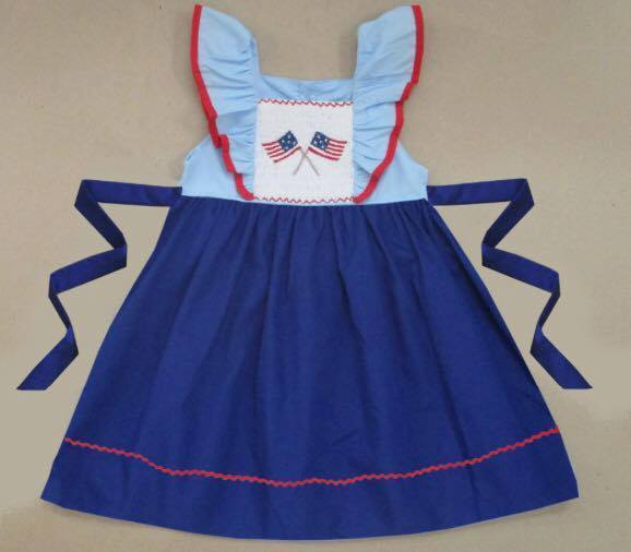 Flag Pole Pinafore Dress