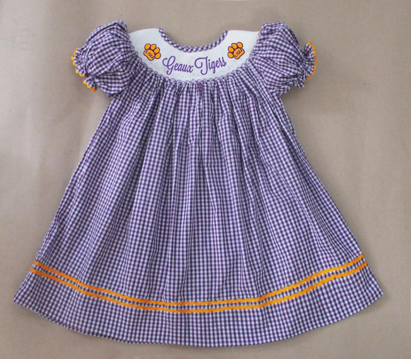 LSU Geaux Tigers Bishop Dress