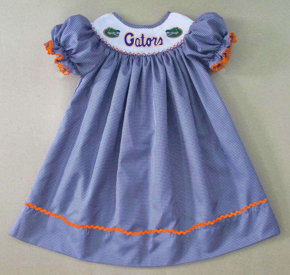 Florida Gators Bishop Dress