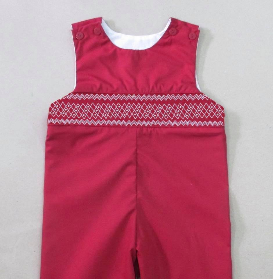 Red Smocked JonJon