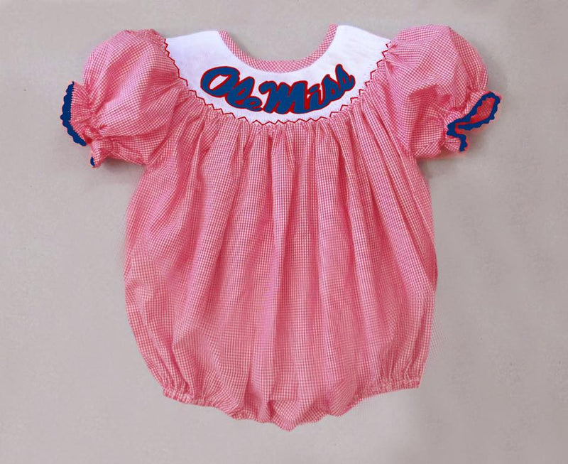 Reg Gingham Ole Miss Bubble
