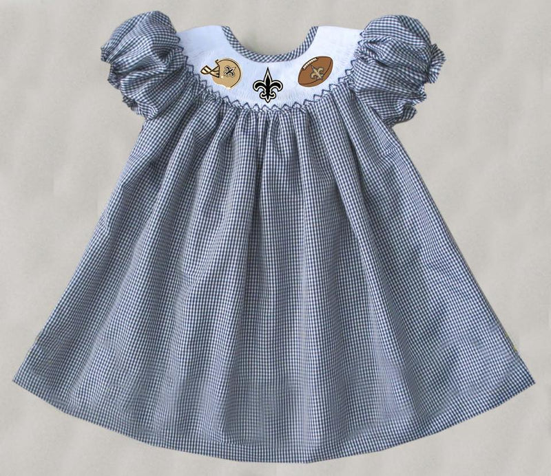Saints Bishop Dress (Helmet Football)