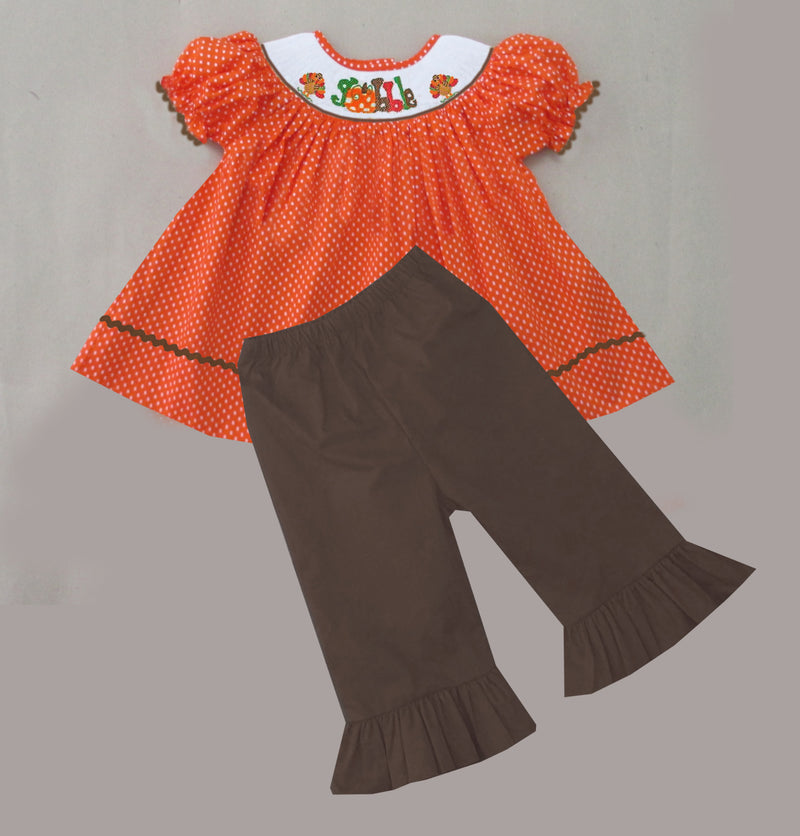 Gobble Girls Pants Set
