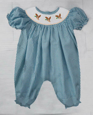 Flying Mallard Romper