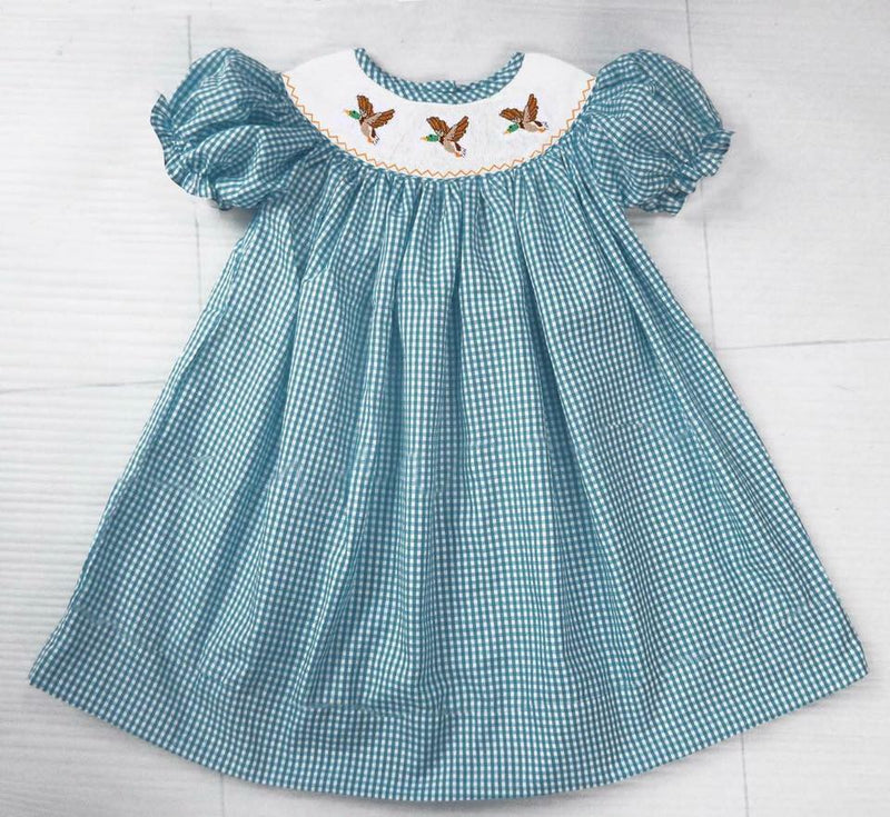 Flying Mallard Bishop Dress