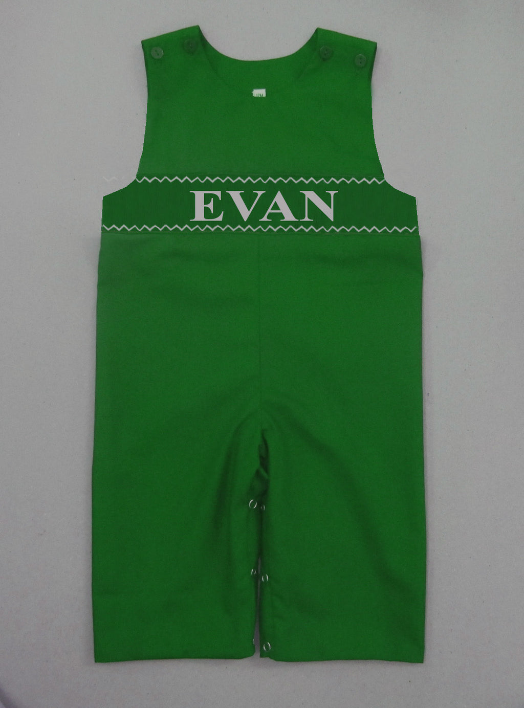 Personalized Green Longall