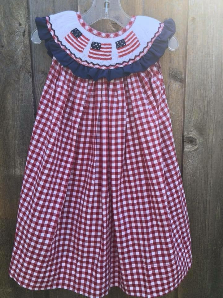 Patriotic Bishop Dress