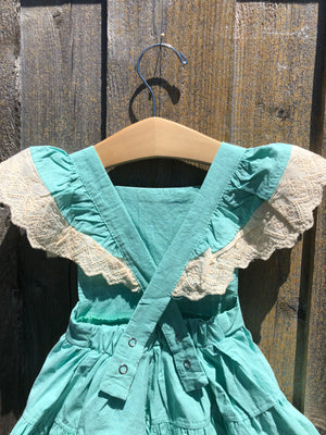 Mint Skirted Romper