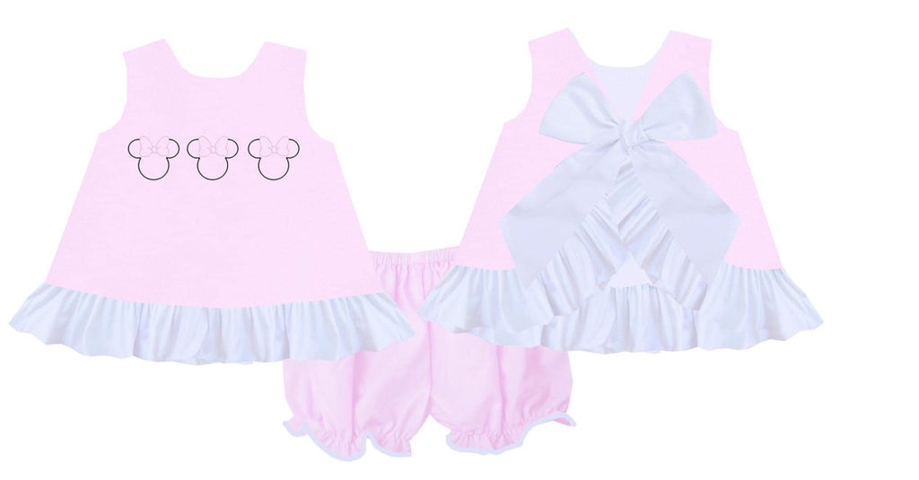 Disney Minnie Bloomer Short Set