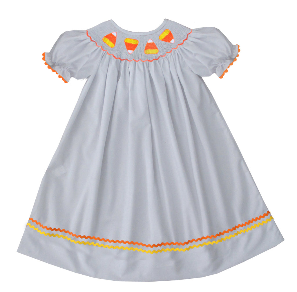 2019 Candy Corn Bishop Dress