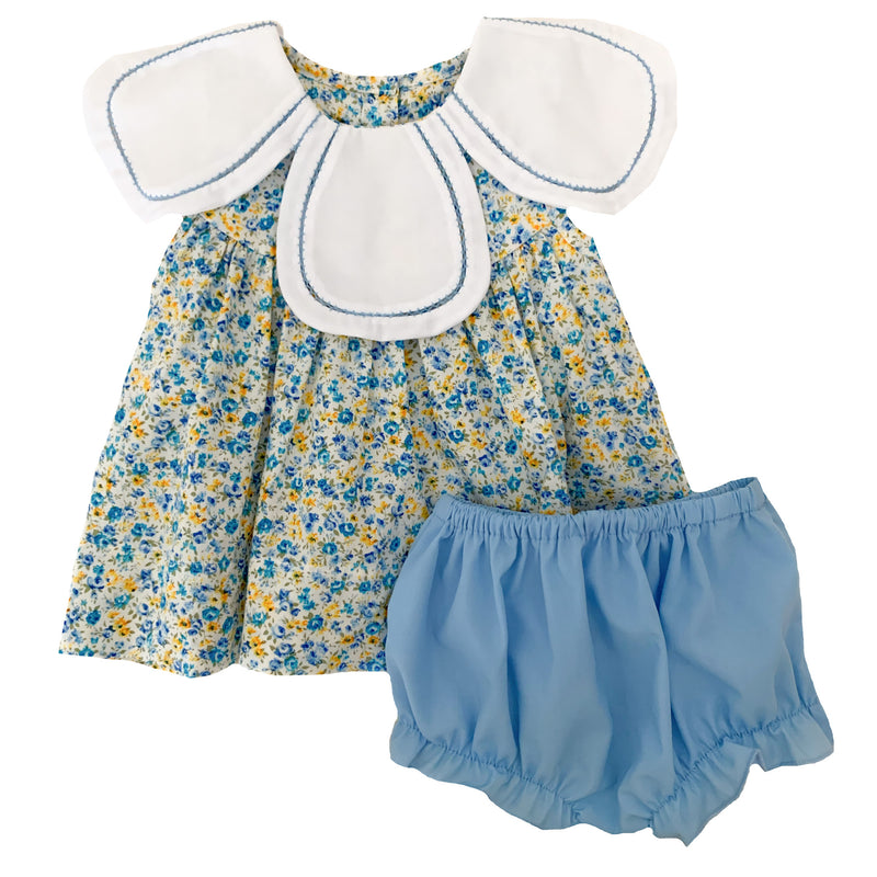 2020 Floral Collar Bloomer Set