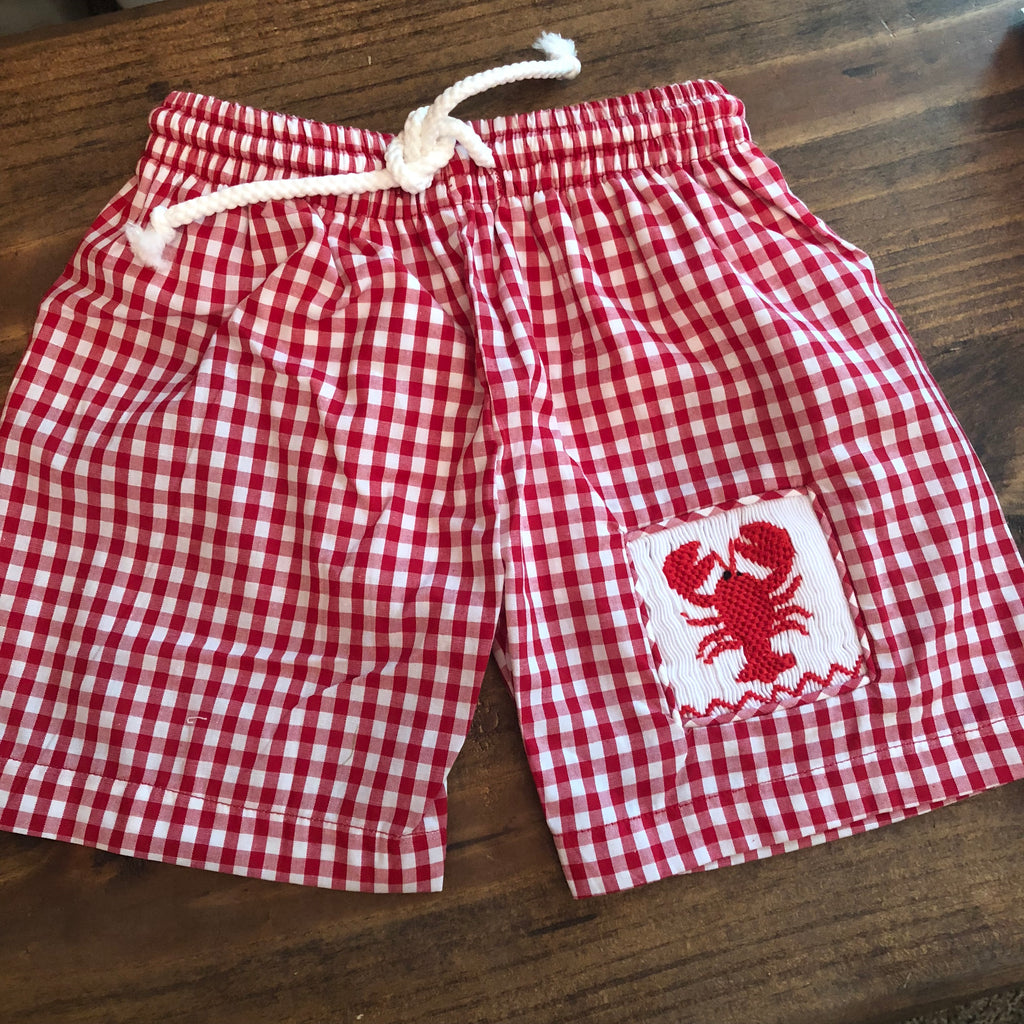 Red Crawfish Trunks