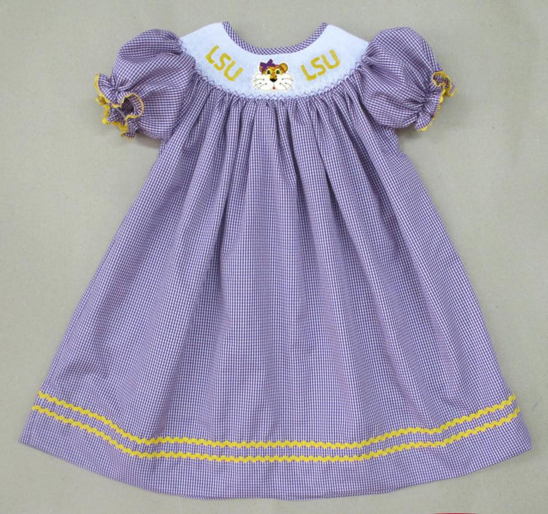 LSU Bishop Dress
