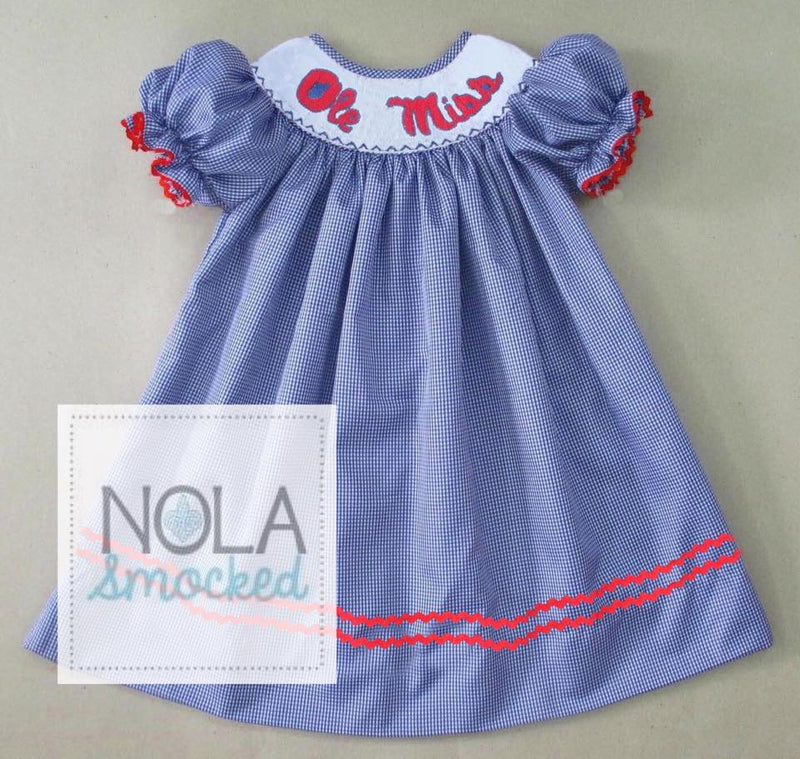 Ole Miss Bishop Dress