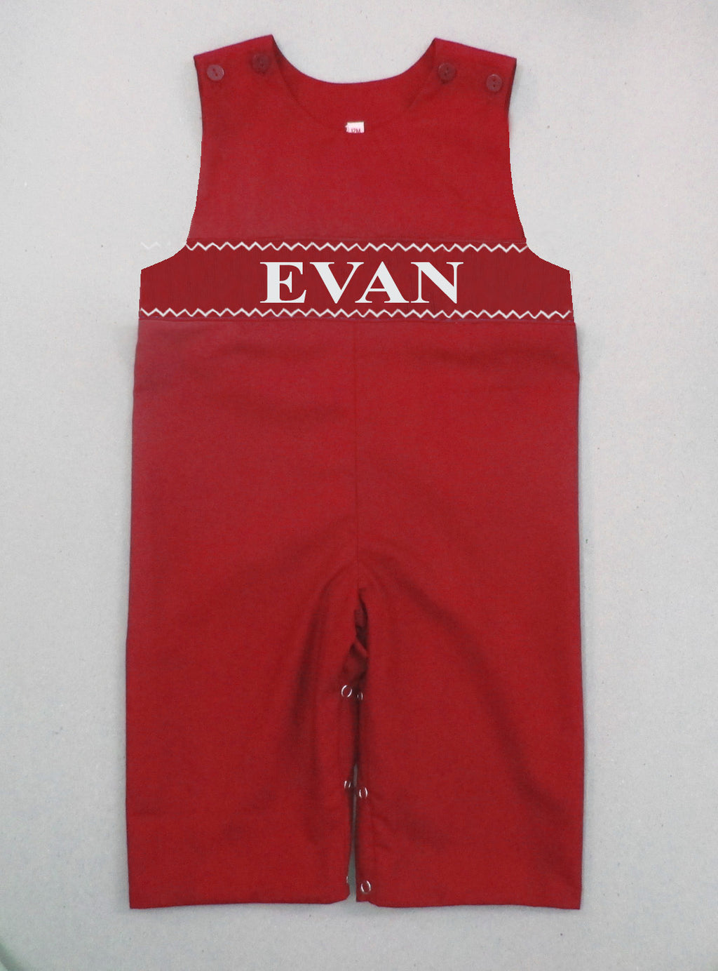 Personalized Red Longall