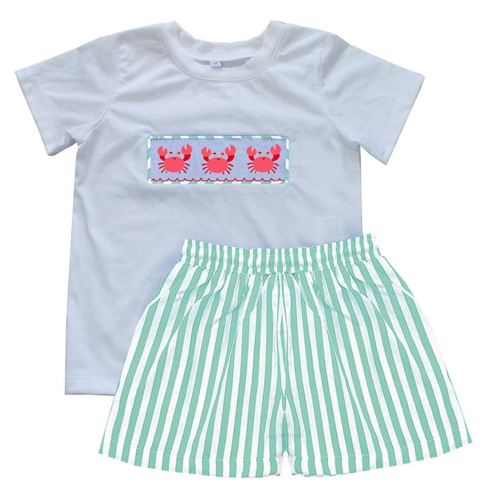 2020 CRAB BOY TSHIRT SHORT SET