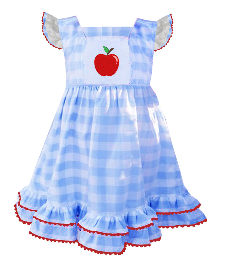 Vintage Apple Pinafore Dress