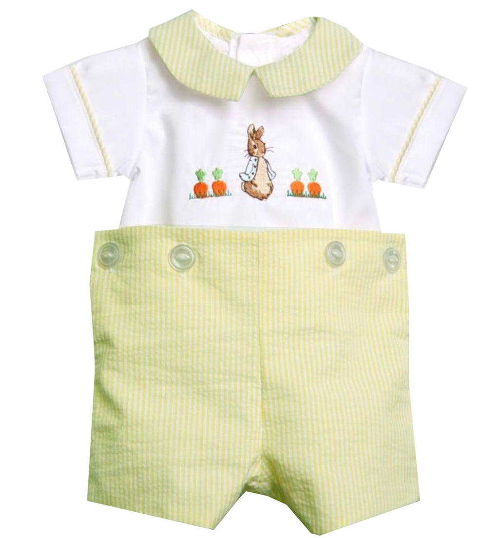 Peter Rabbit Bib Boys Short Set