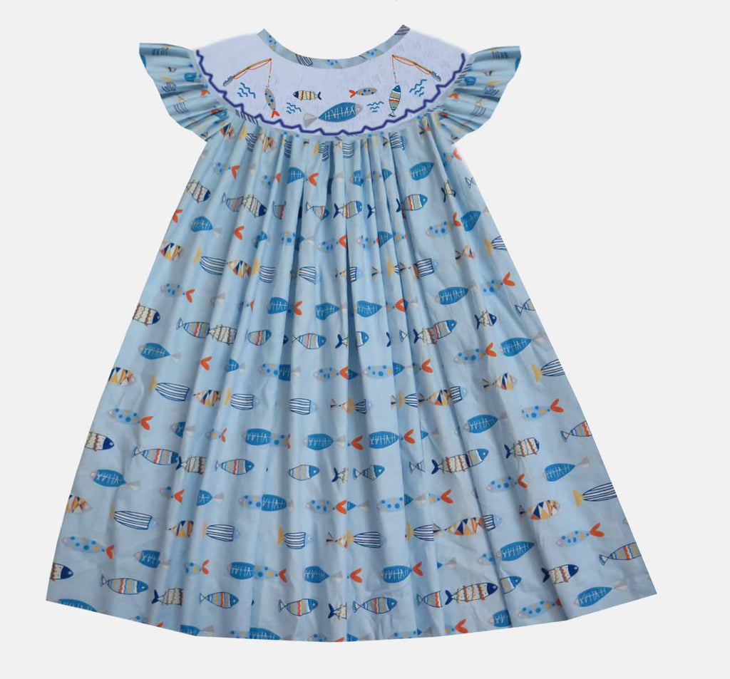 Fishin' Camp Bishop Dress