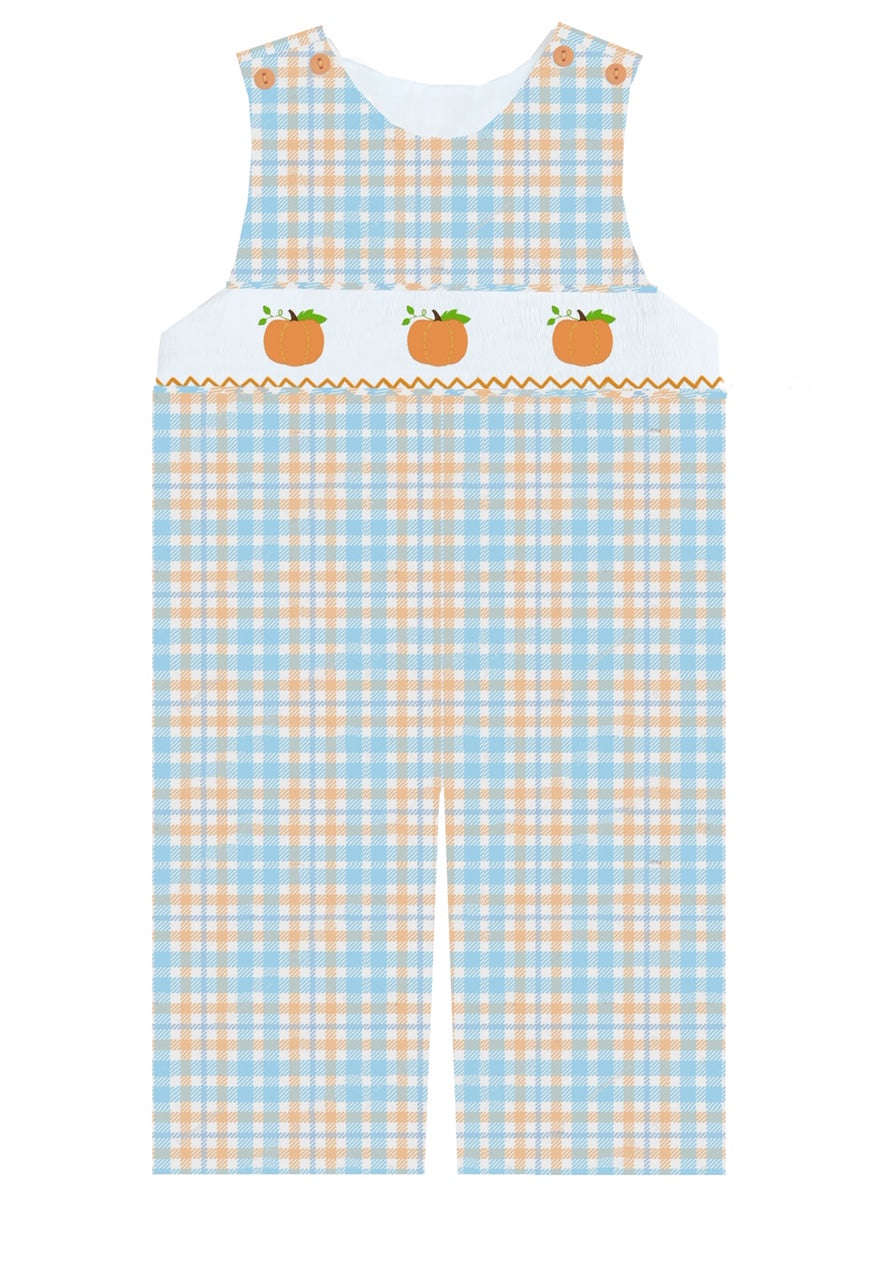 2020 Plaid Pumpkin Longall