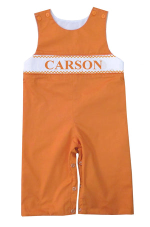 Personalized Orange Longall