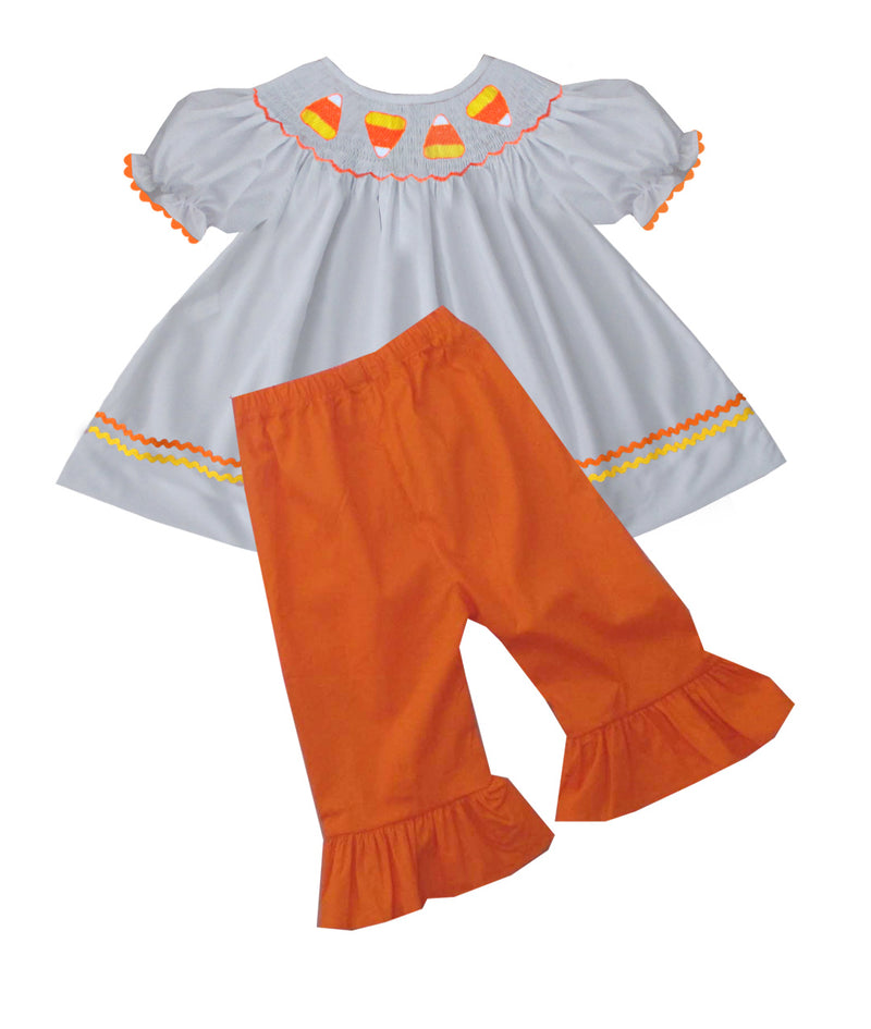 2019 Candy Corn Girls Pant Set