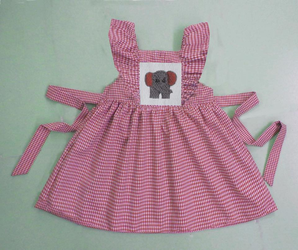 BAMA Pinafore Dress