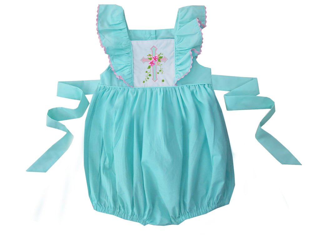 2020 EASTER CROSS PINAFORE BUBBLE