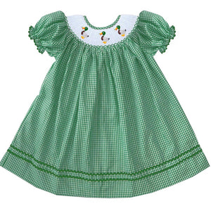 2019 Mallard Bishop Dress Gingham
