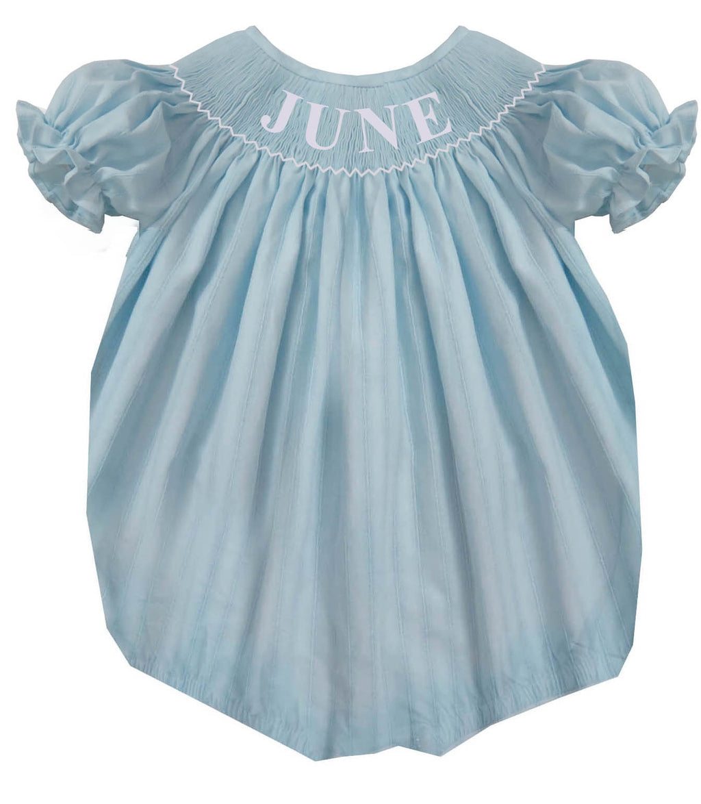 Personalized Light Blue Spring Bubble