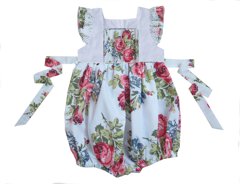 2020 Floral Pinafore Bubble